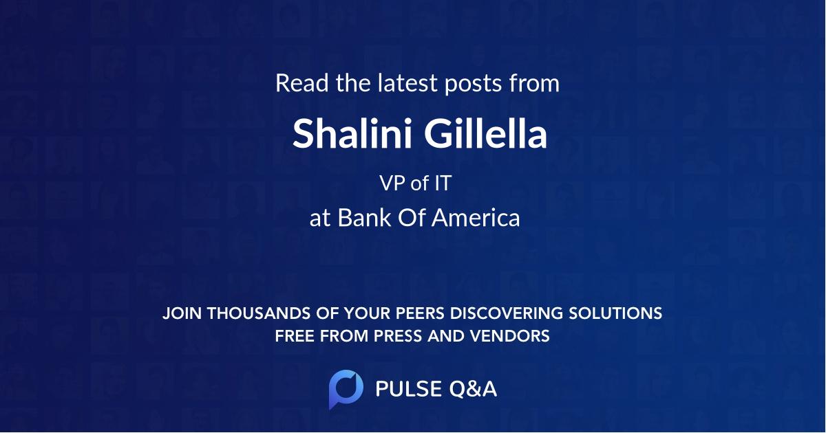 Shalini Gillella