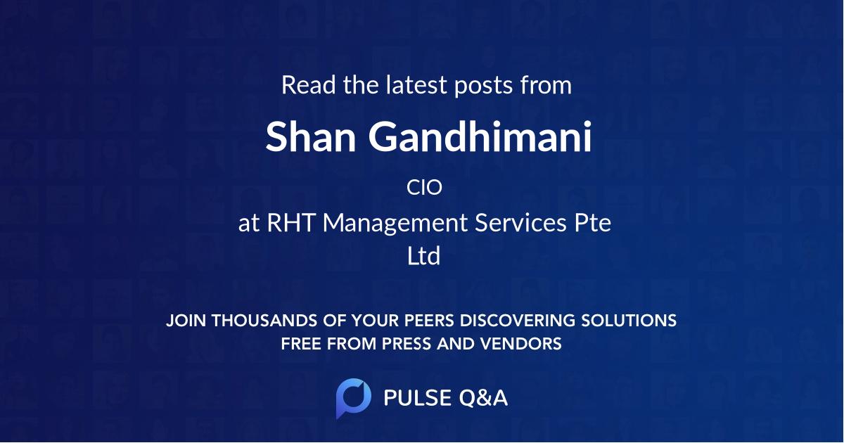 Shan Gandhimani