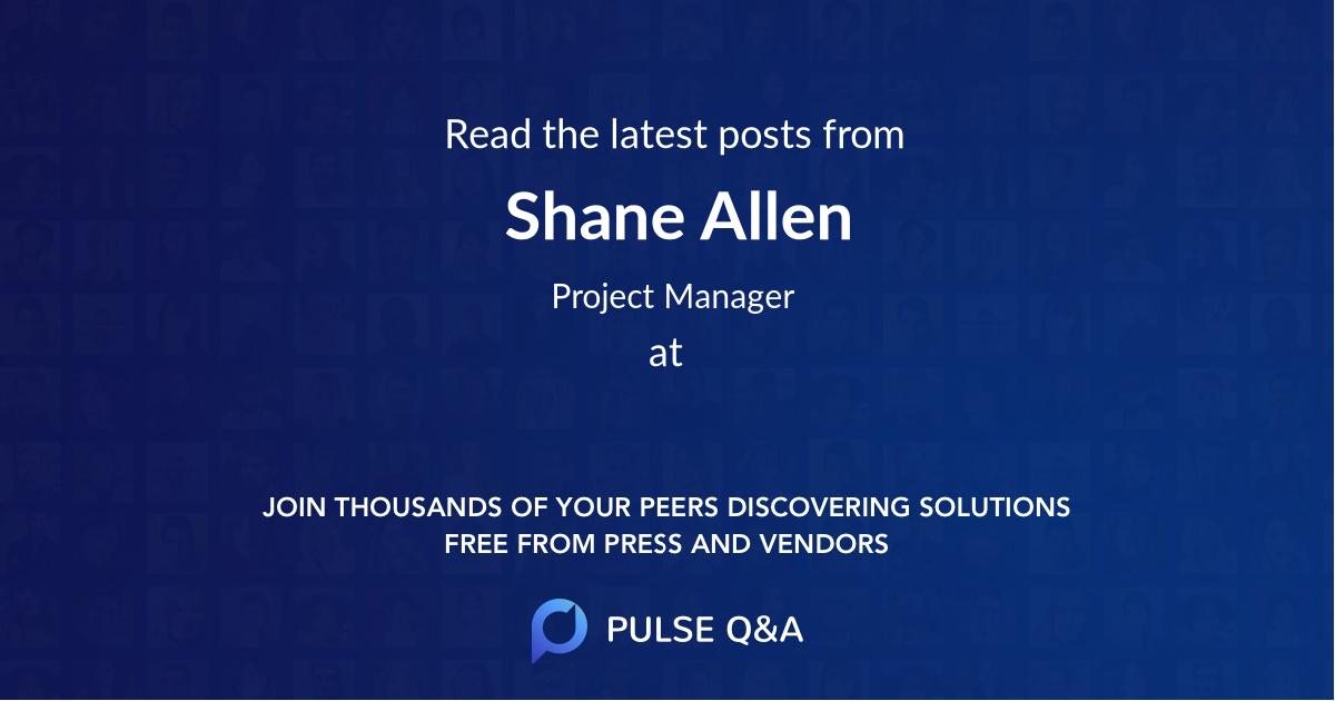 Shane Allen