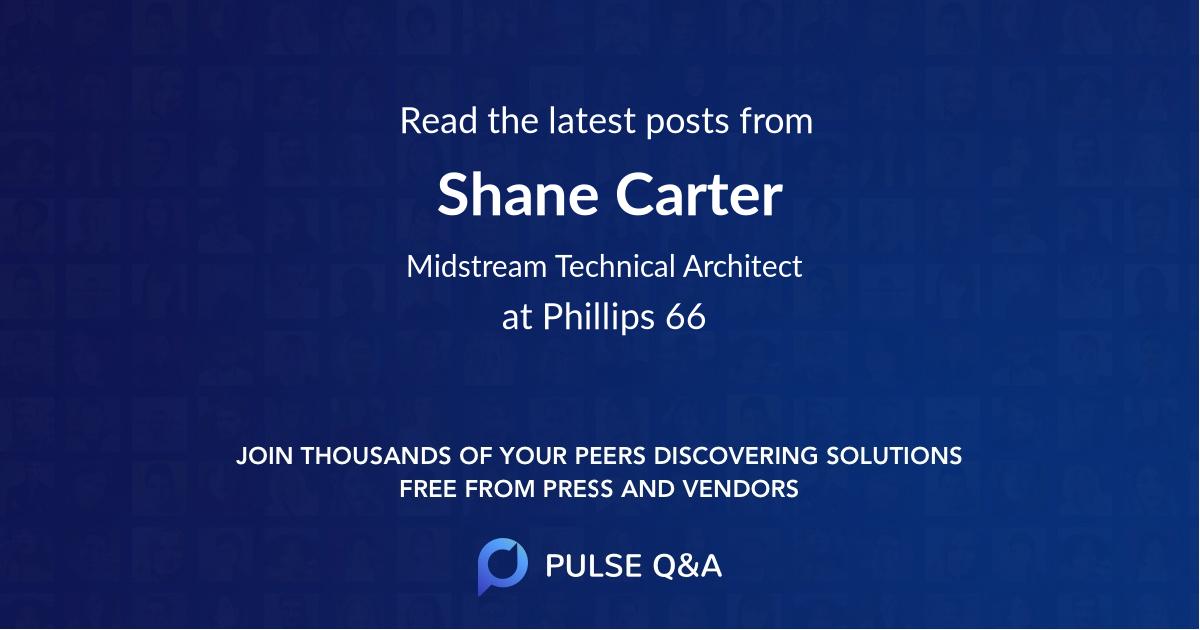 Shane Carter