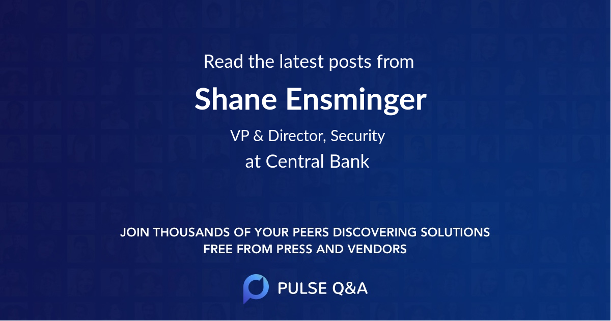 Shane Ensminger