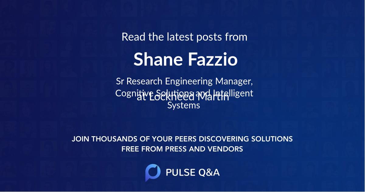 Shane Fazzio