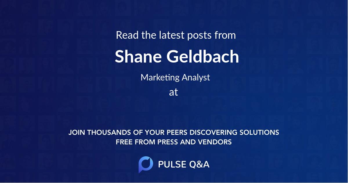 Shane Geldbach