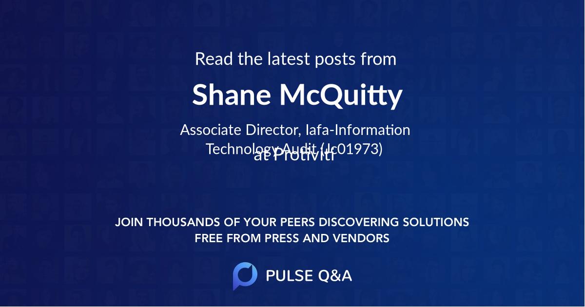 Shane McQuitty