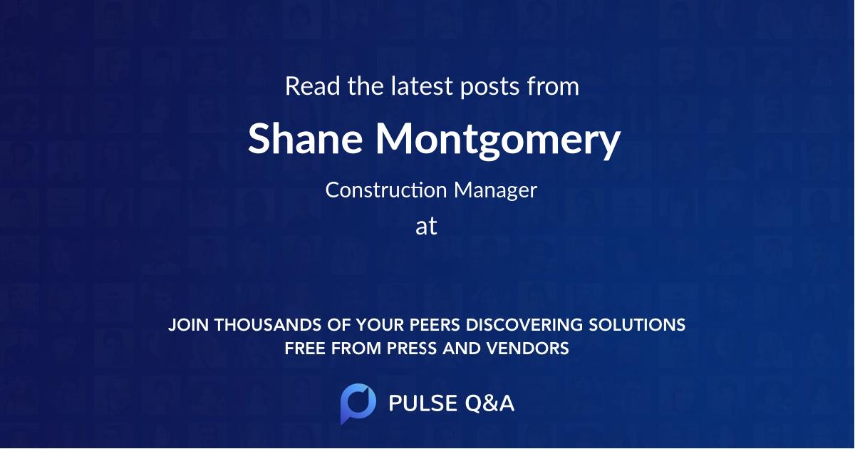 Shane Montgomery
