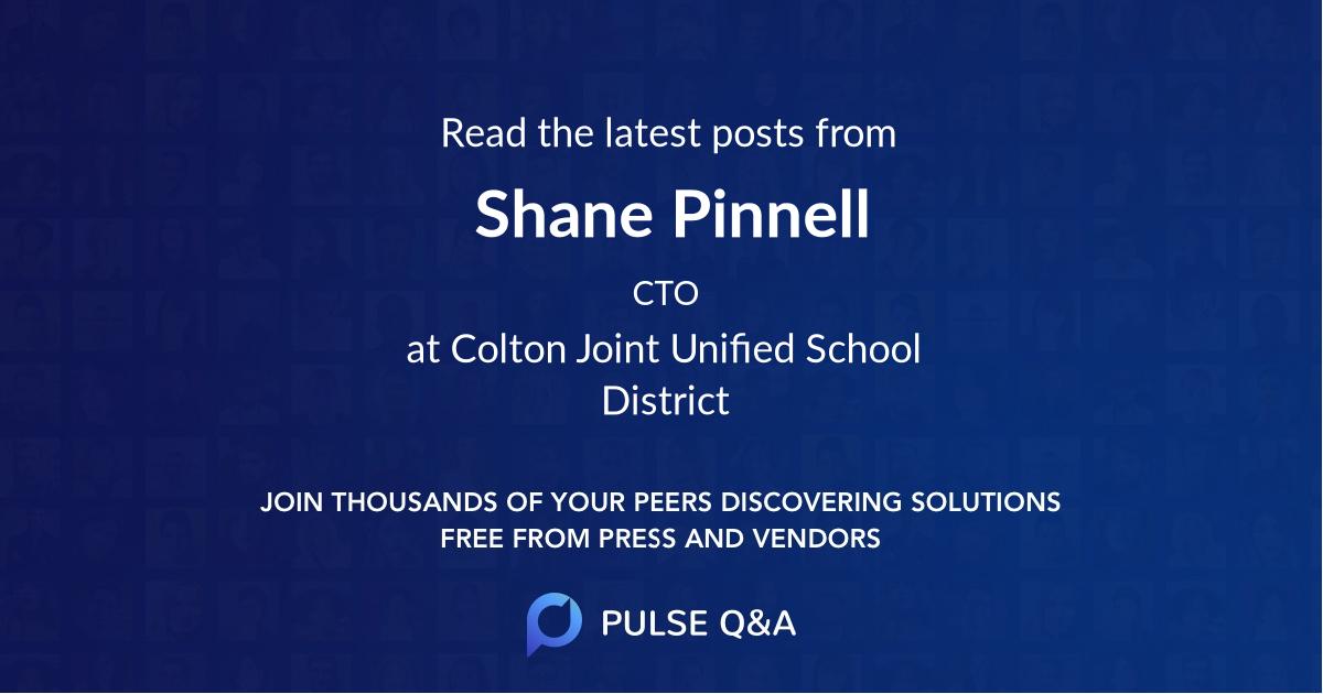 Shane Pinnell