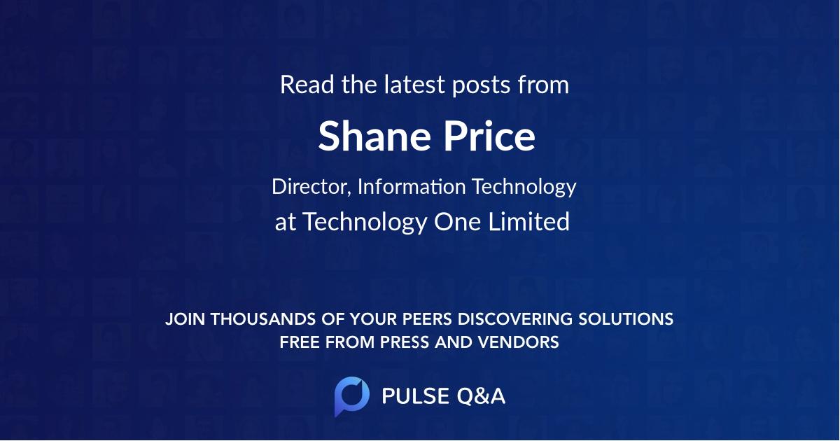 Shane Price