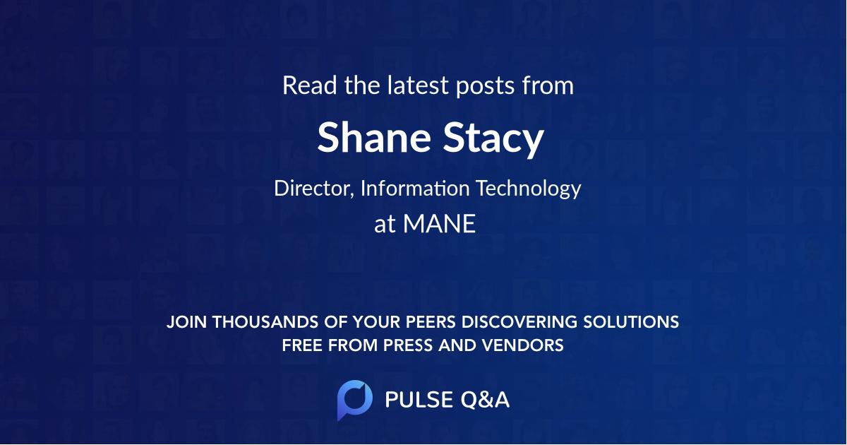 Shane Stacy