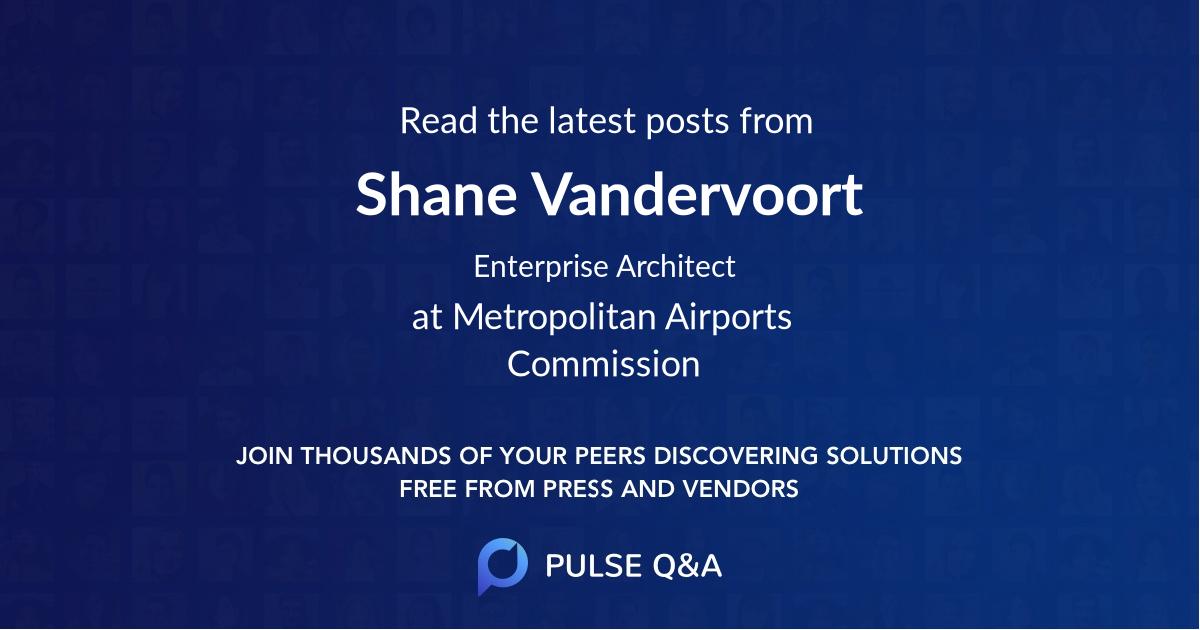 Shane Vandervoort