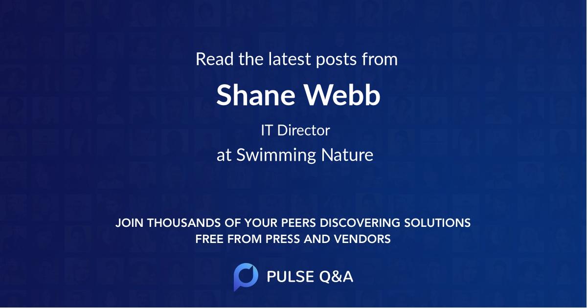 Shane Webb