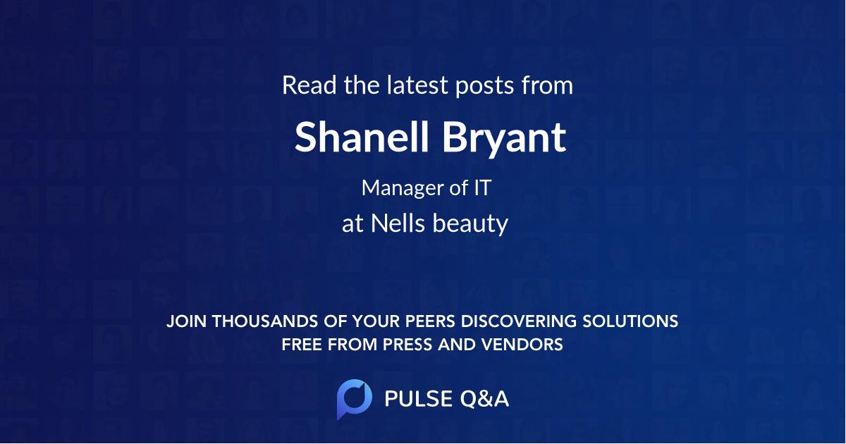 Shanell Bryant