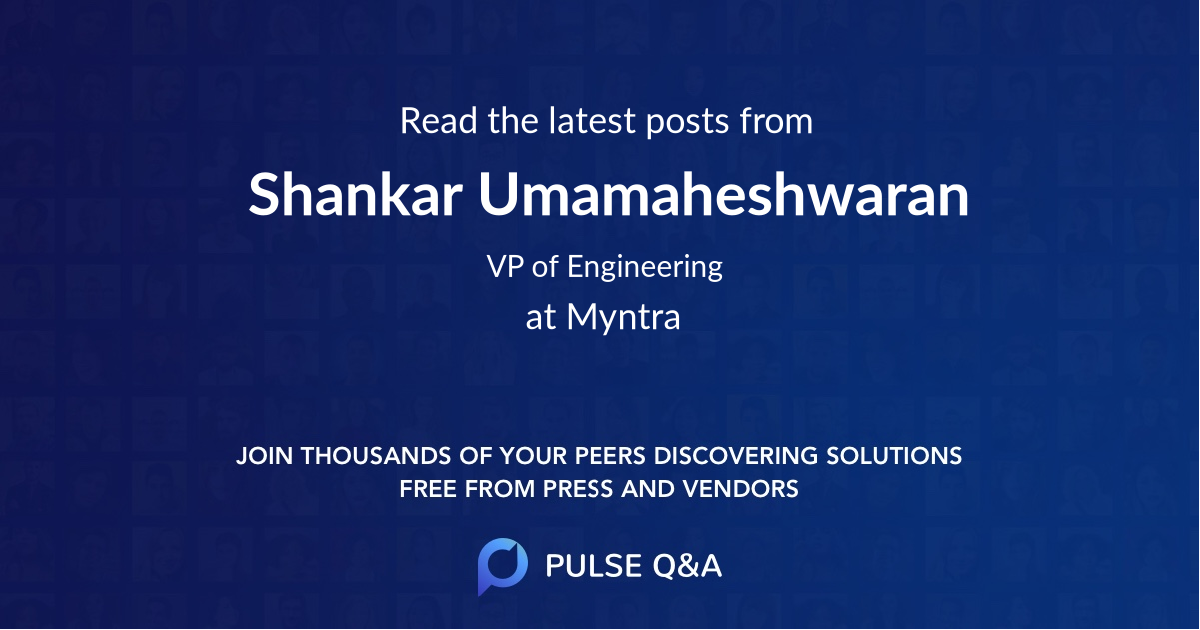 Shankar Umamaheshwaran