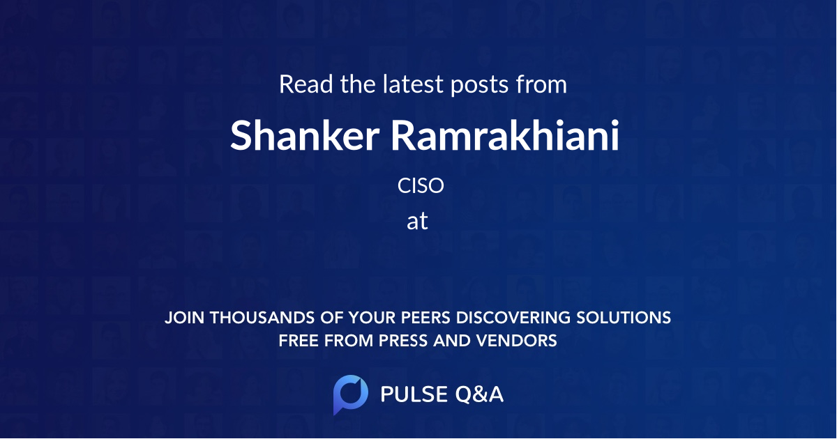 Shanker Ramrakhiani