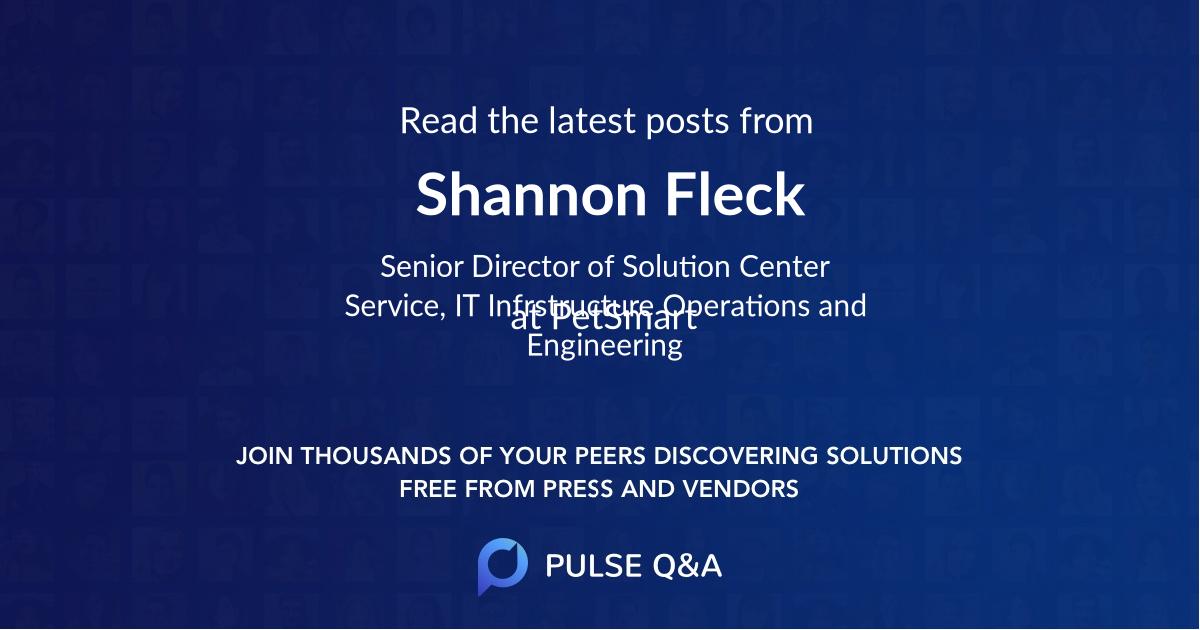 Shannon Fleck