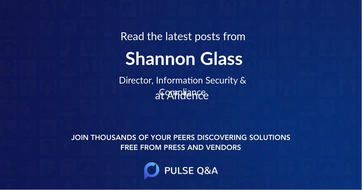 Shannon Glass