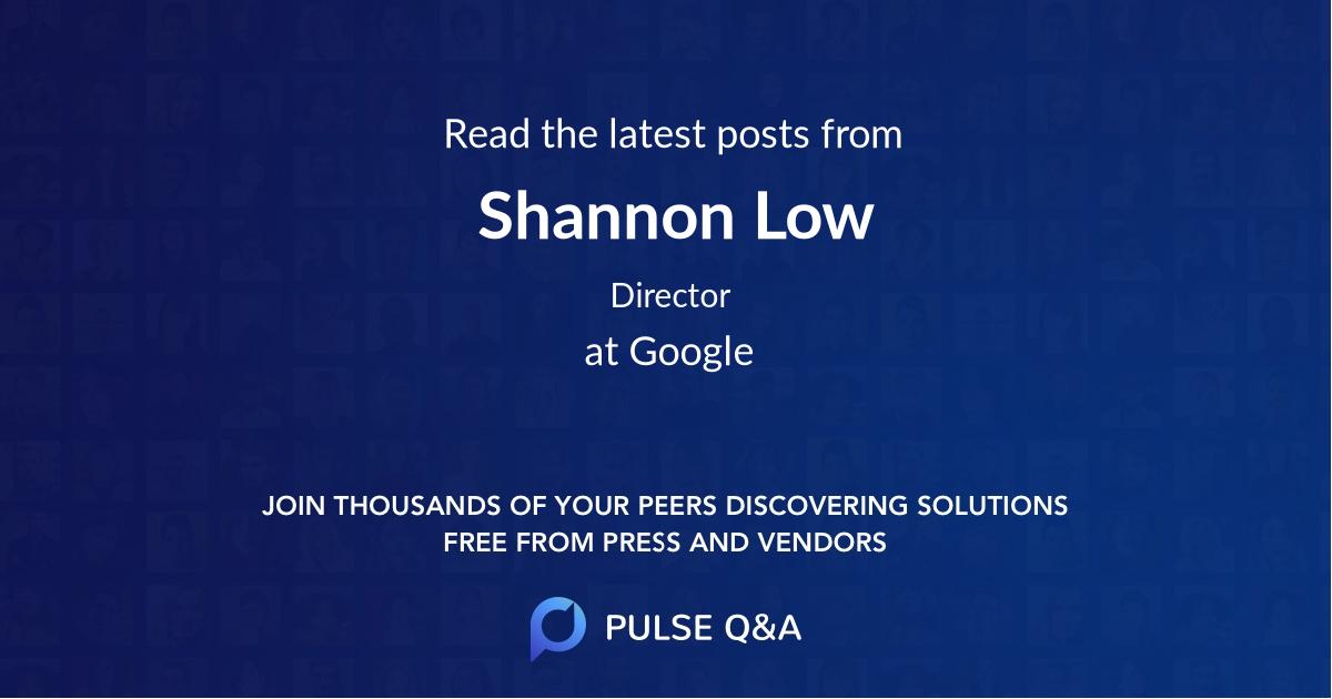 Shannon Low