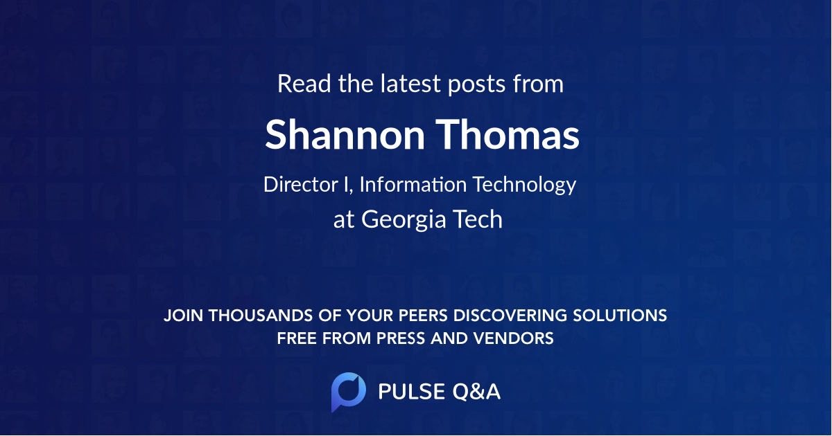 Shannon Thomas