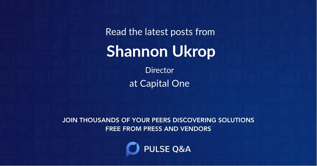 Shannon Ukrop