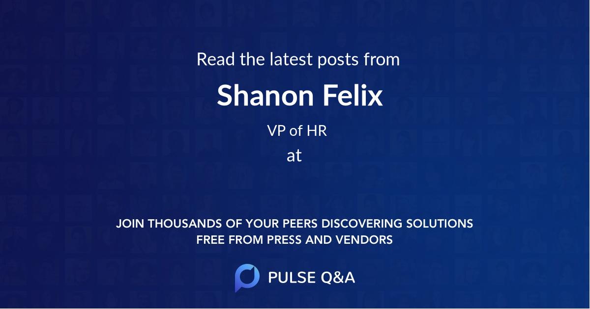Shanon Felix