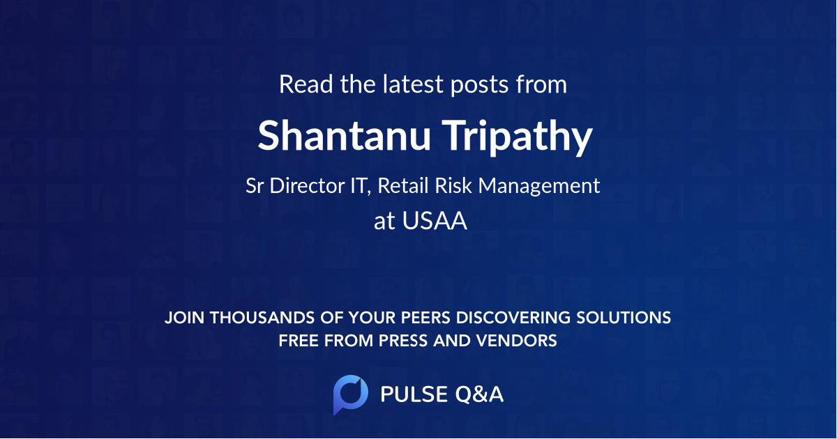 Shantanu Tripathy