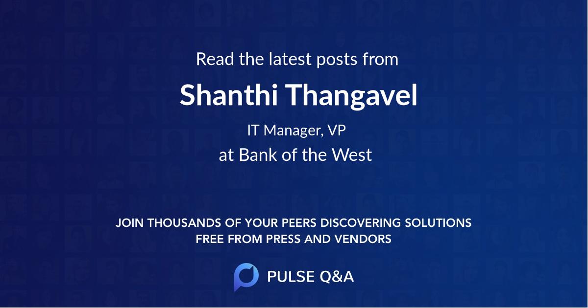 Shanthi Thangavel