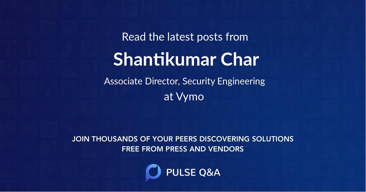 Shantikumar Char