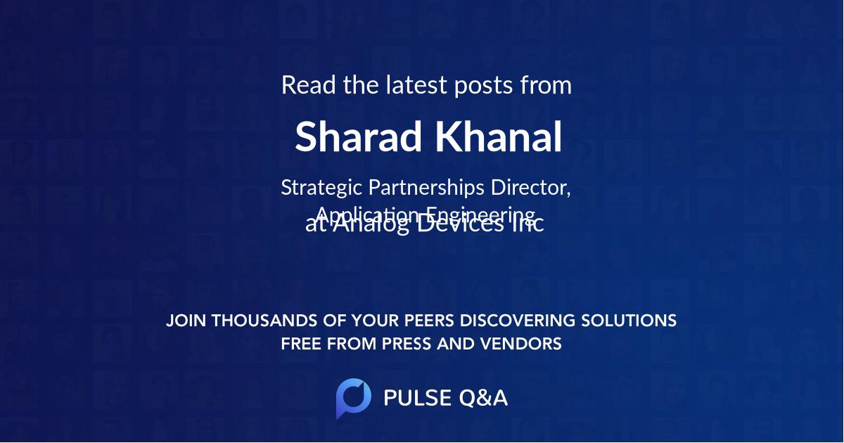 Sharad Khanal