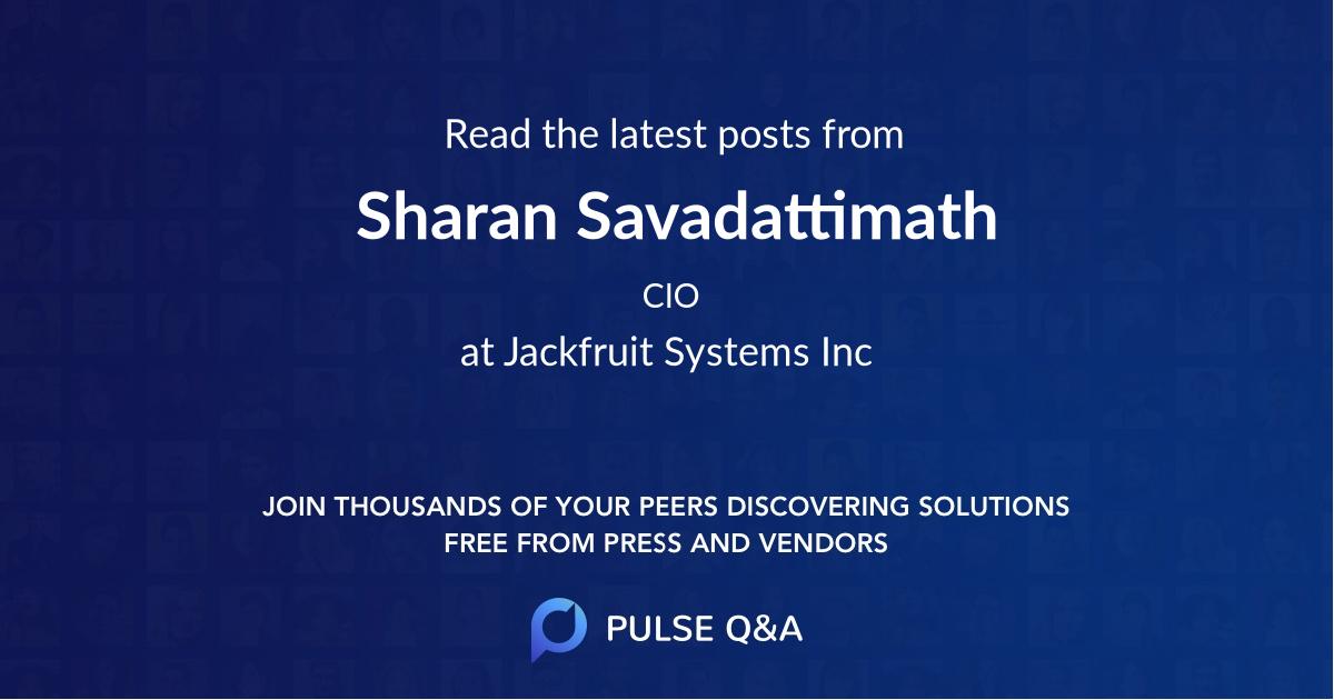 Sharan Savadattimath