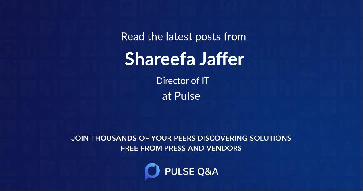 Shareefa Jaffer