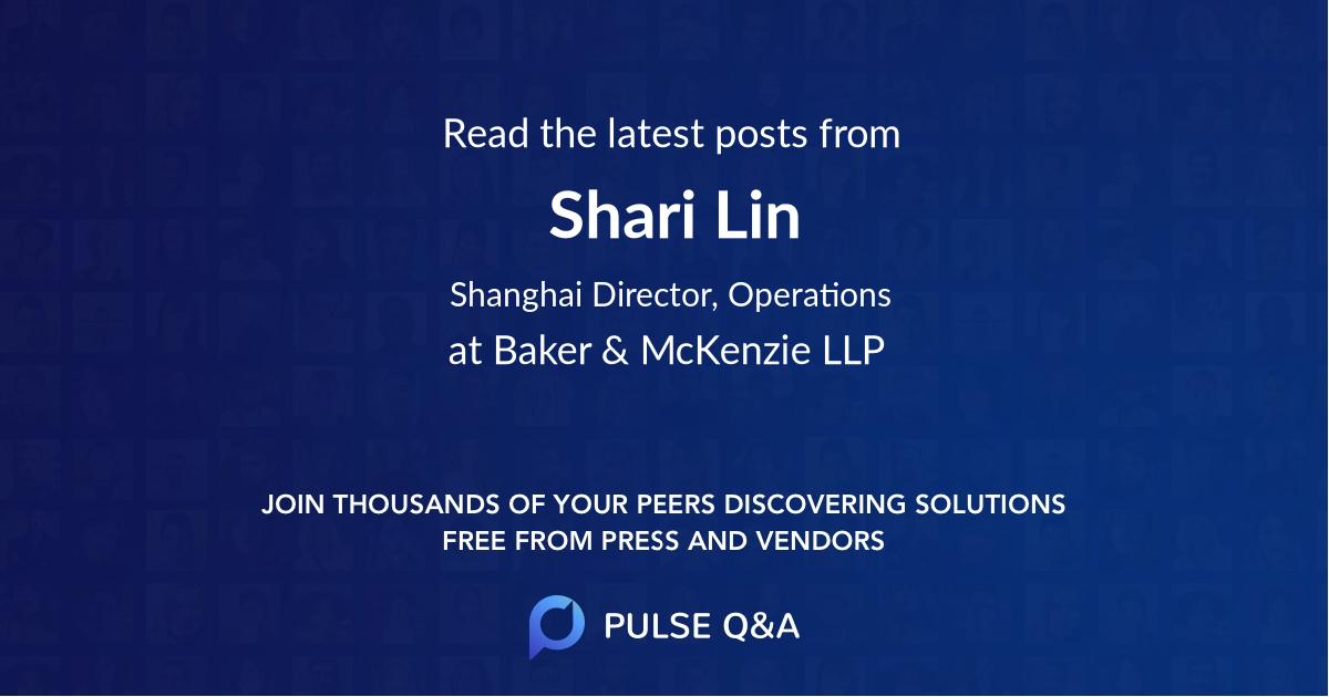 Shari Lin