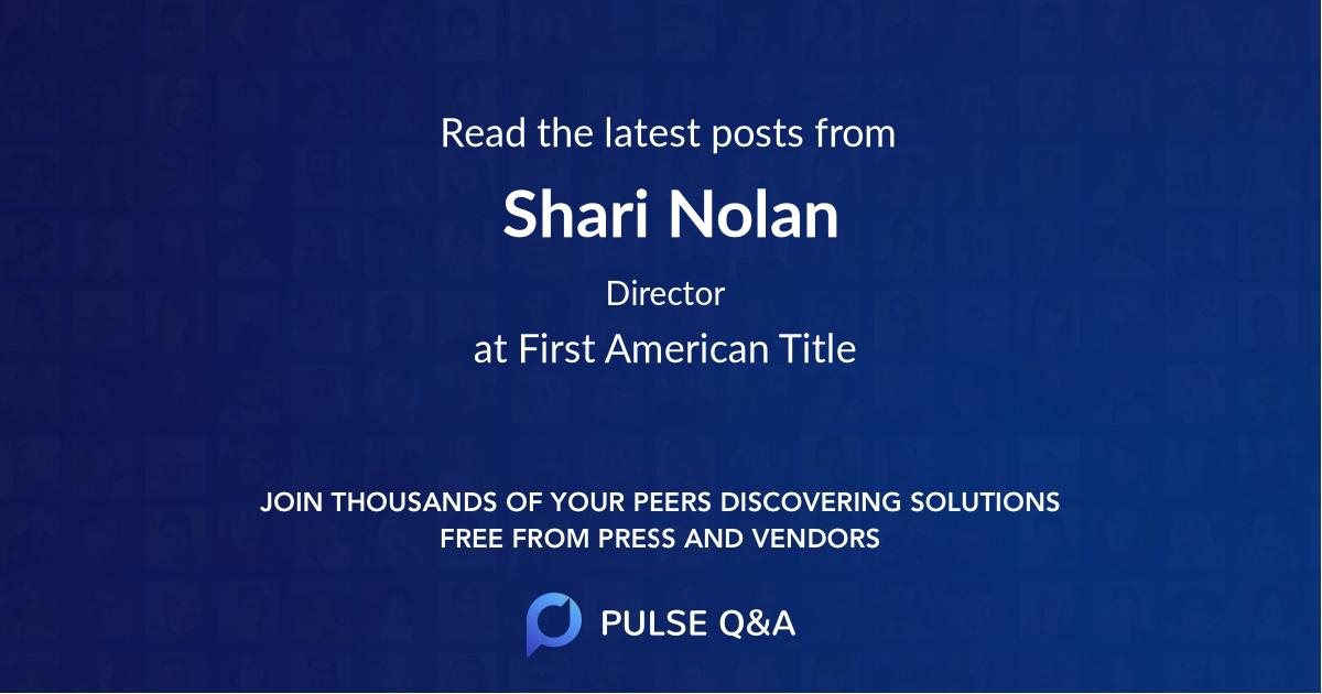 Shari Nolan