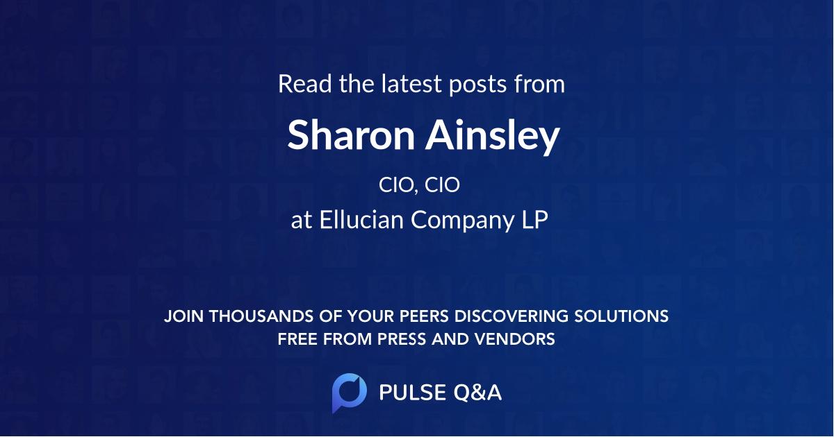Sharon Ainsley