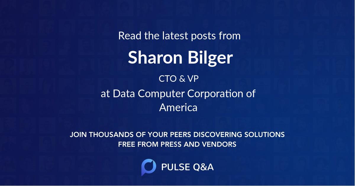 Sharon Bilger