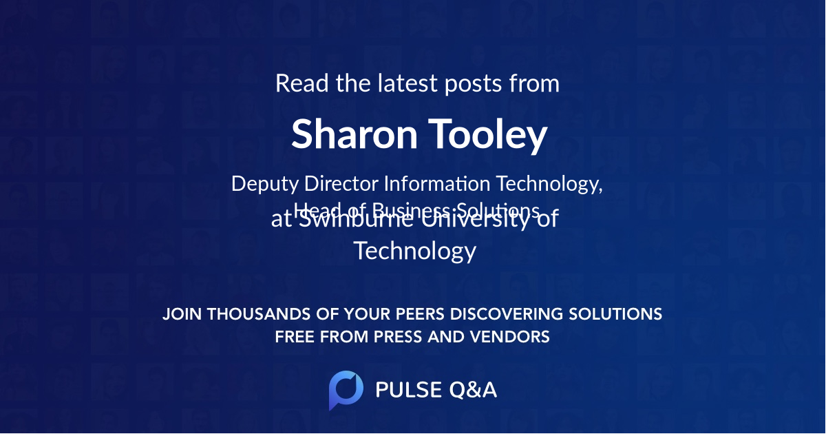 Sharon Tooley