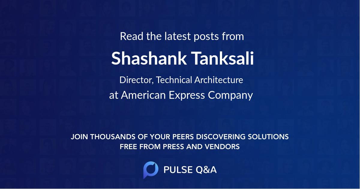 Shashank Tanksali