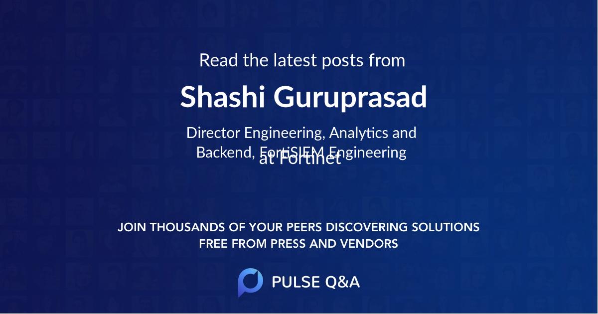 Shashi Guruprasad
