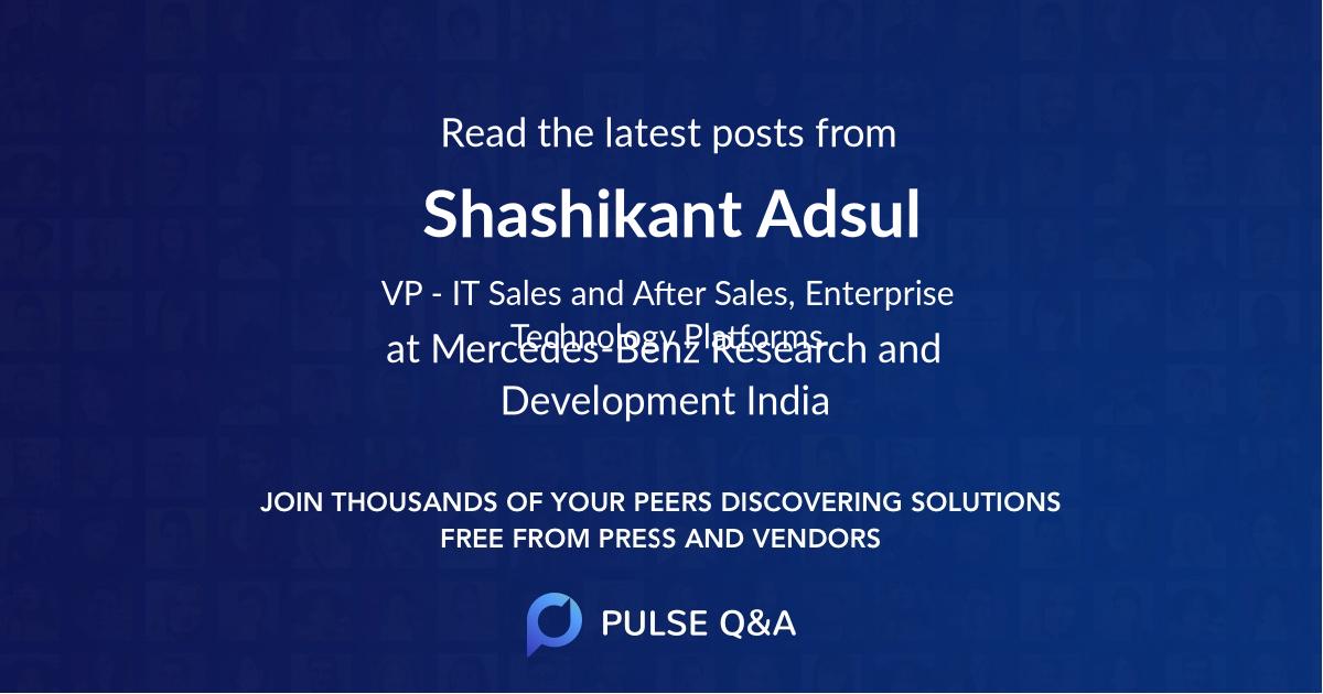 Shashikant Adsul