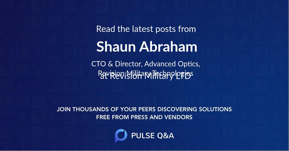 Shaun Abraham