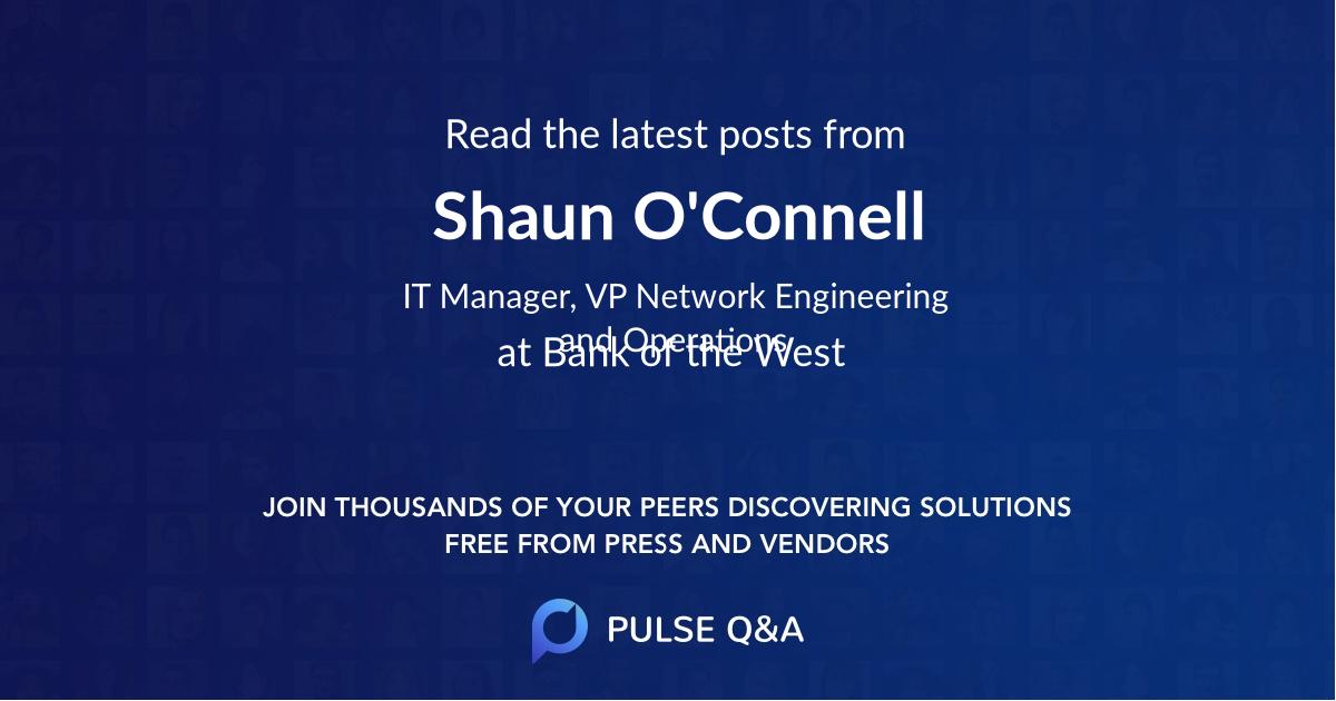 Shaun O'Connell