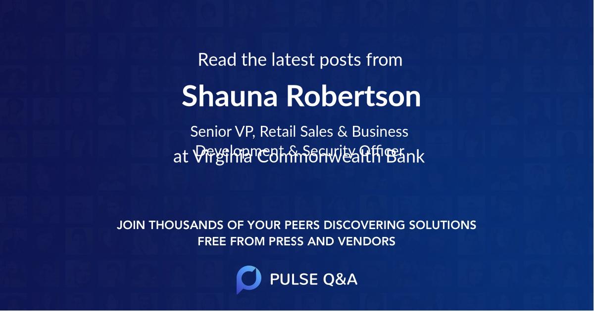 Shauna Robertson