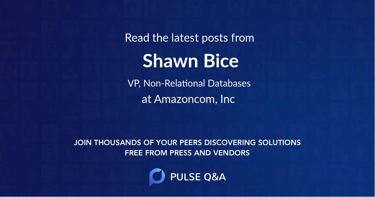 Shawn Bice