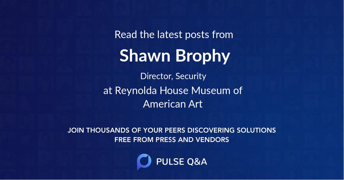 Shawn Brophy