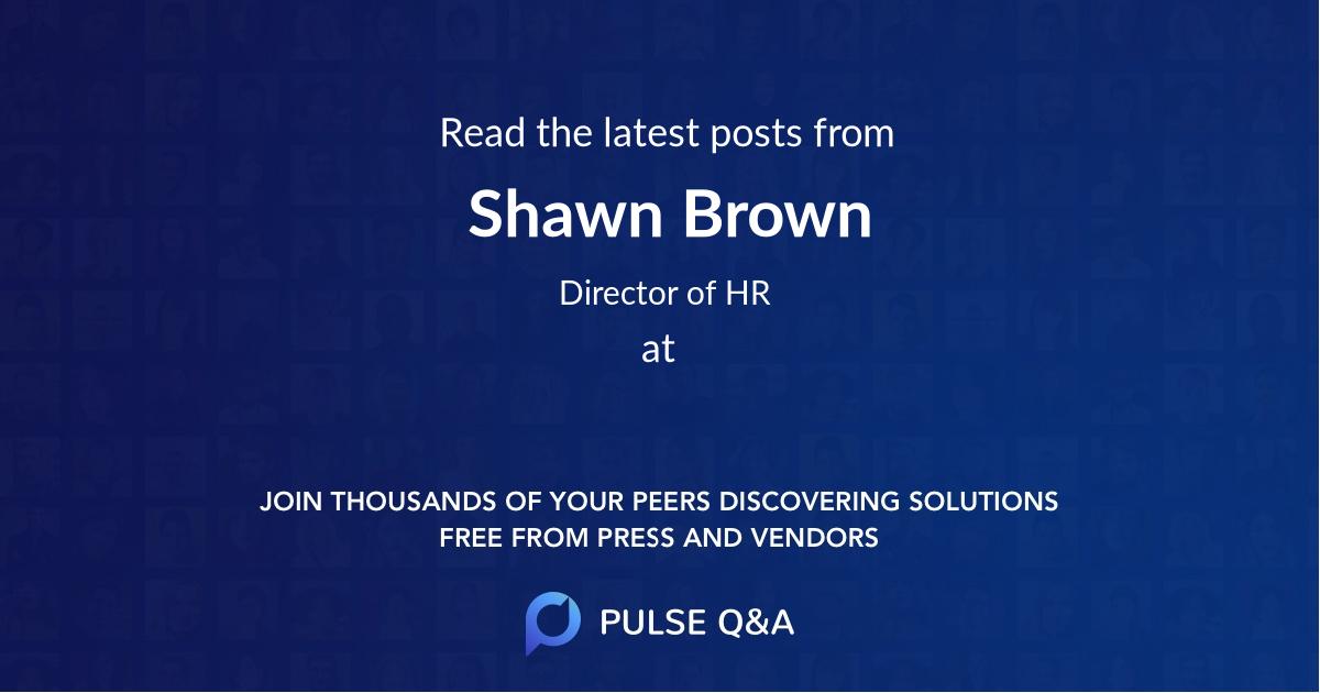 Shawn Brown
