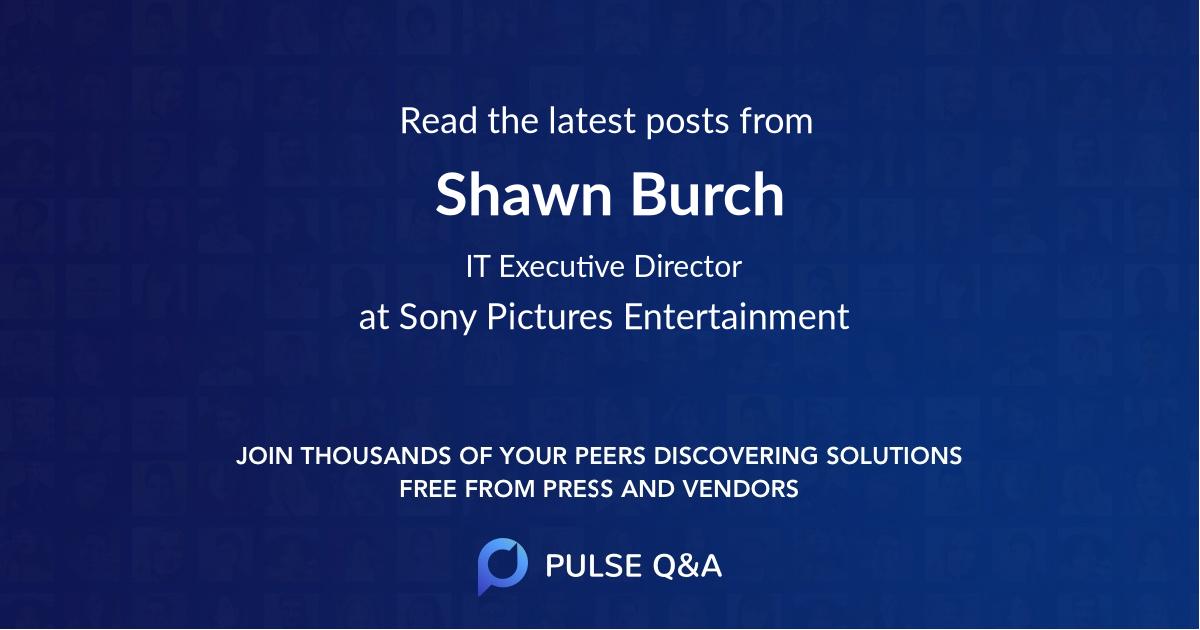 Shawn Burch
