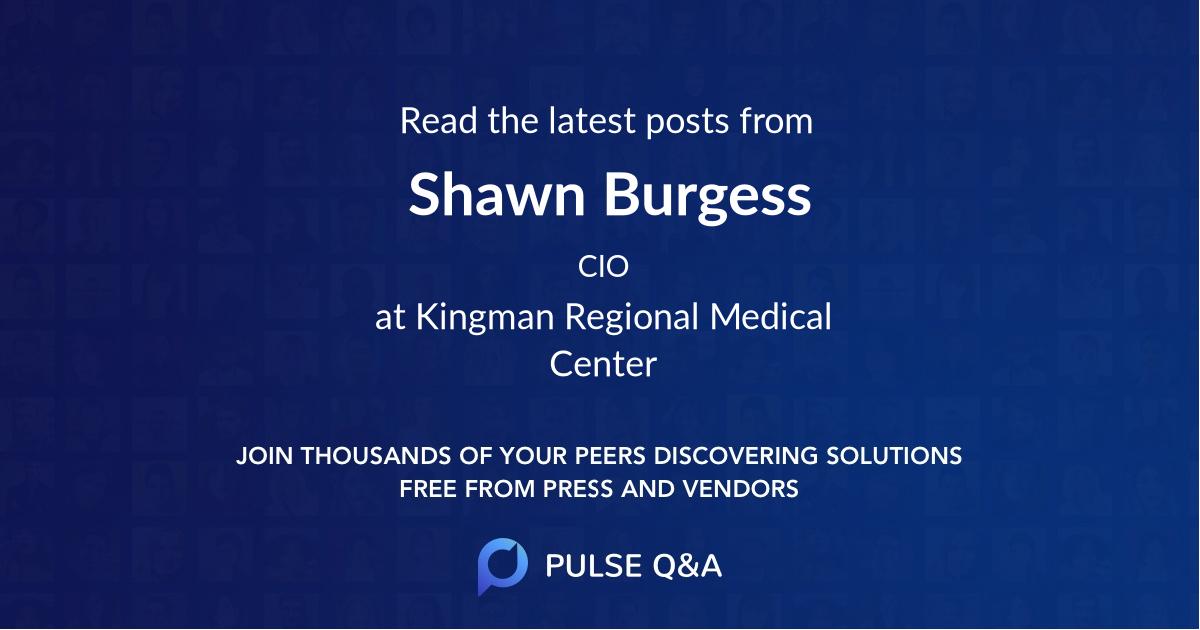 Shawn Burgess