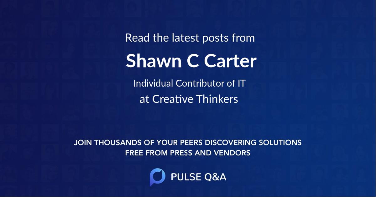 Shawn C Carter