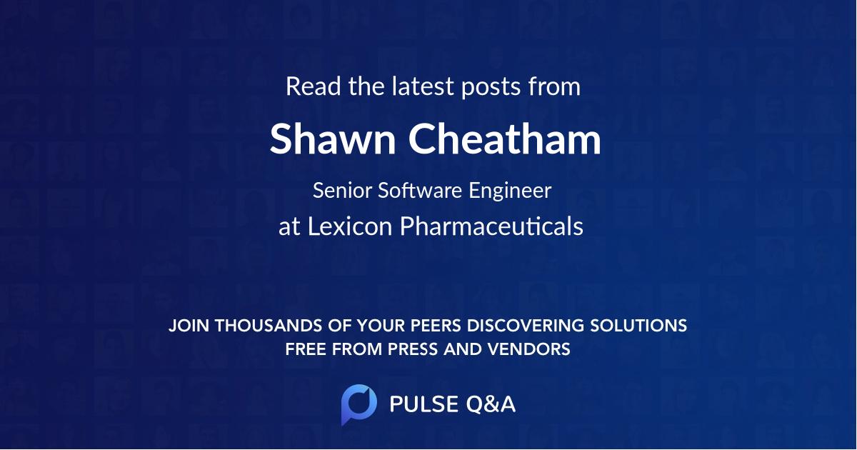 Shawn Cheatham