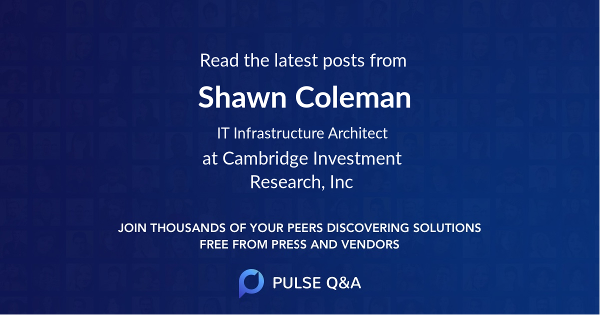Shawn Coleman