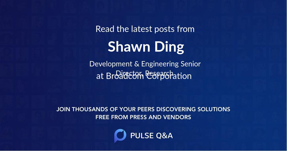 Shawn Ding