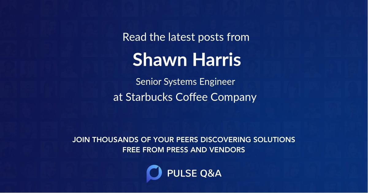 Shawn Harris
